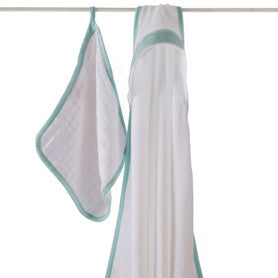 Aden + Anais La Mer Hooded Towel Set