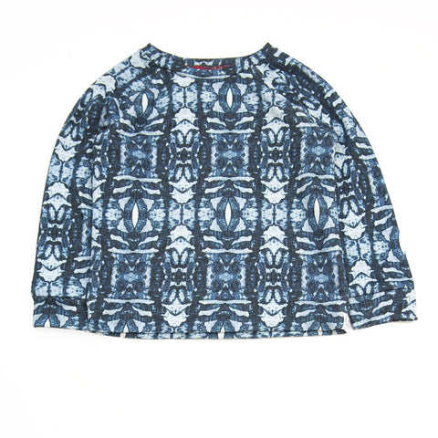 Agatha Cub Blue Tribal Sweatshirt