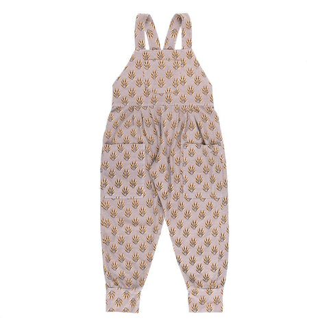Children of the Tribe Spring Feathers Violet Overalls