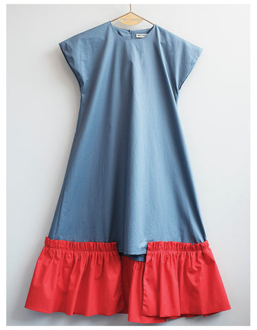 Wolf & Rita Eduarda Blue Red Dress
