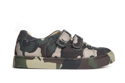 AKID Axel Green Camo Canvas