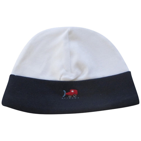 Lyda Baby Navy Cars and Trains Hat