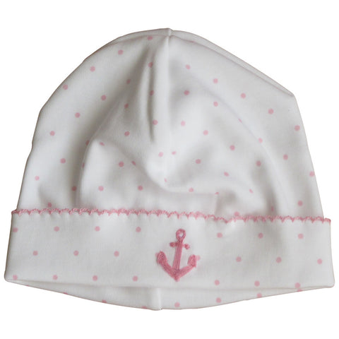 Magnolia Baby Anchors Away Light Pink Hat