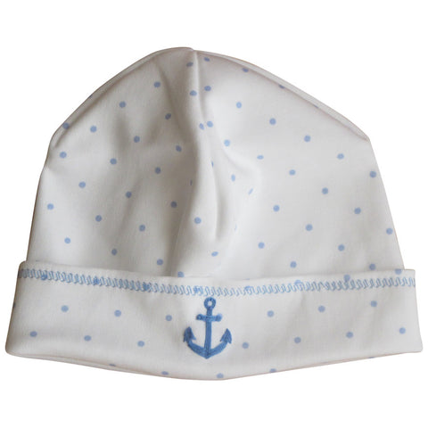 Magnolia Baby Anchors Away Light Blue Hat