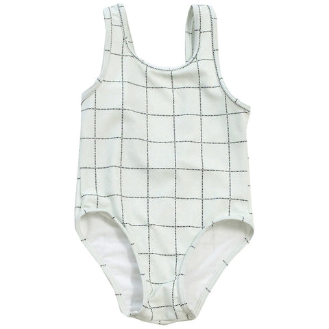 Tiny Cottons Tartan Swimsuit
