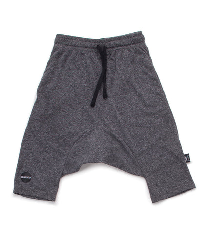 NUNUNU 3/4 Charcoal Shorts