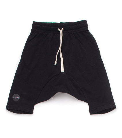 NUNUNU 3/4 Black Shorts