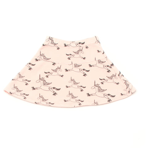 Kira Kids Light Pink Unicorn Skirt