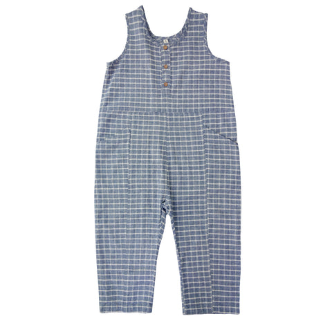 NICO NICO Chambray Wipeout Romper