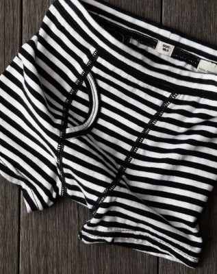 Goat Milk NYC Striped Jersey Boy's Boxer