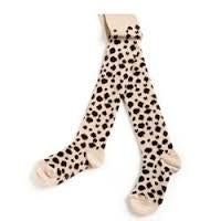Popupshop Beige Leopard Tights