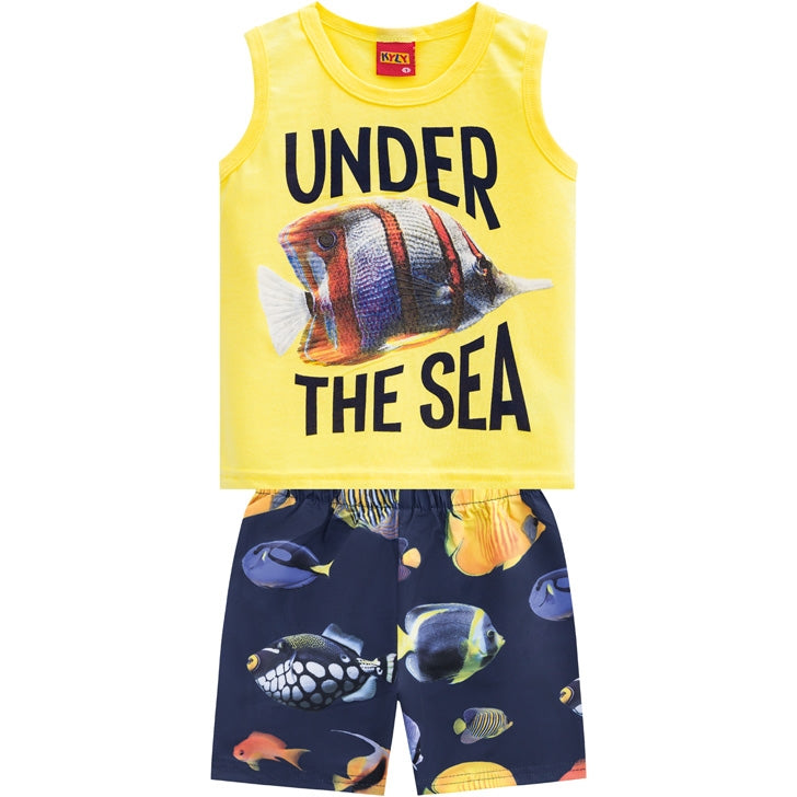 Conjunto Masculino Regata Under The Sea Kyly