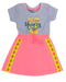 Vestido Manga Curta Welcome Unicorn Fakini Kids