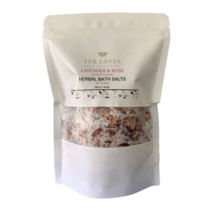 Lavender and Rose Herbal Bath Salts- Add-On