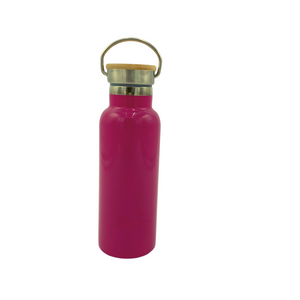 Stainless Steel Insulated Water Bottle - Bold Pink
