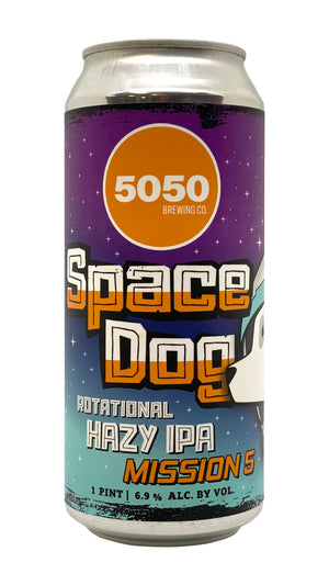 Space Dog Mission 5 (Case: 6x4 pack of 16 oz cans)