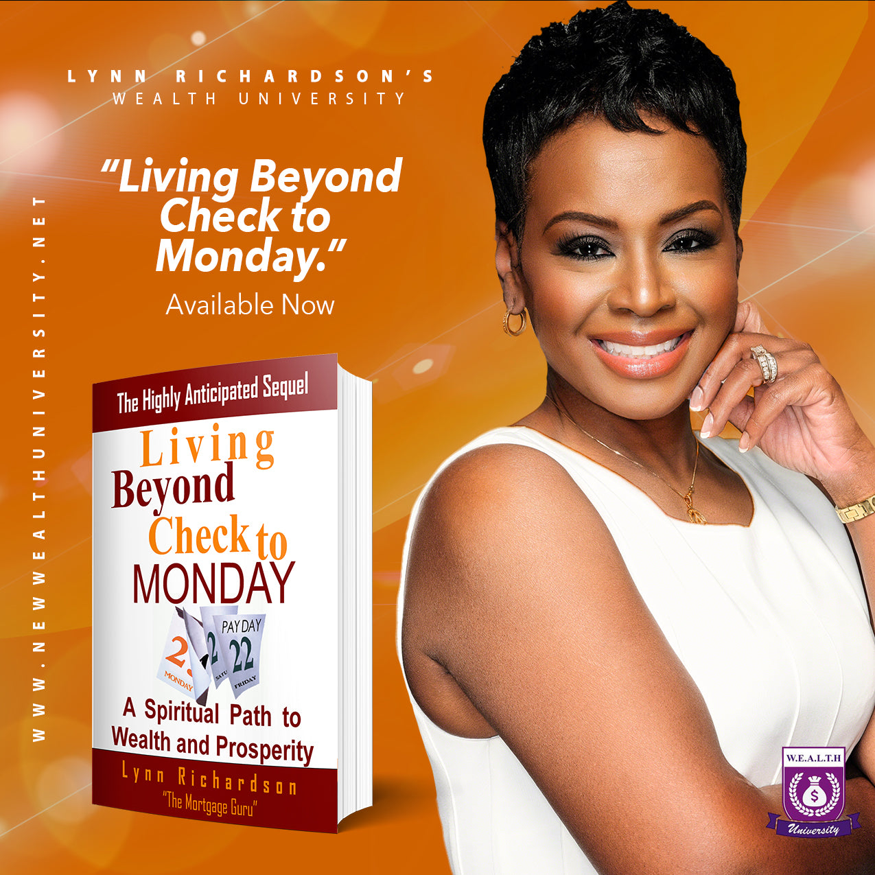 WORKBOOK: Living Beyond Check to Monday: A Spiritual Path to Wealth & Prosperity