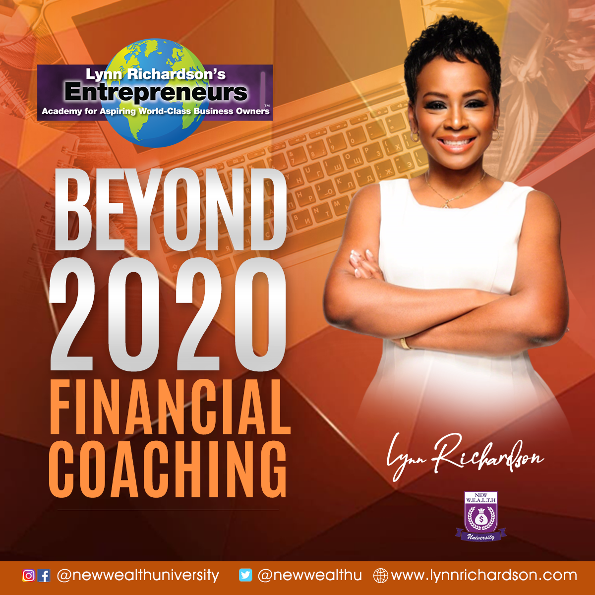 BEYOND 2020 FINANCIAL COACHING - ONE YEAR PROGRAM - WILL YOU BE ONE OF MY 20BEYOND2020?