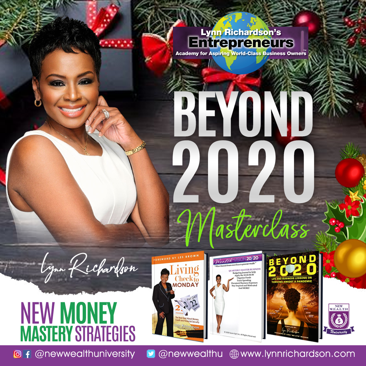 Beyond 2020 Master Class Gift Set: Protect Your W.E.A.L.T.H. for Life!