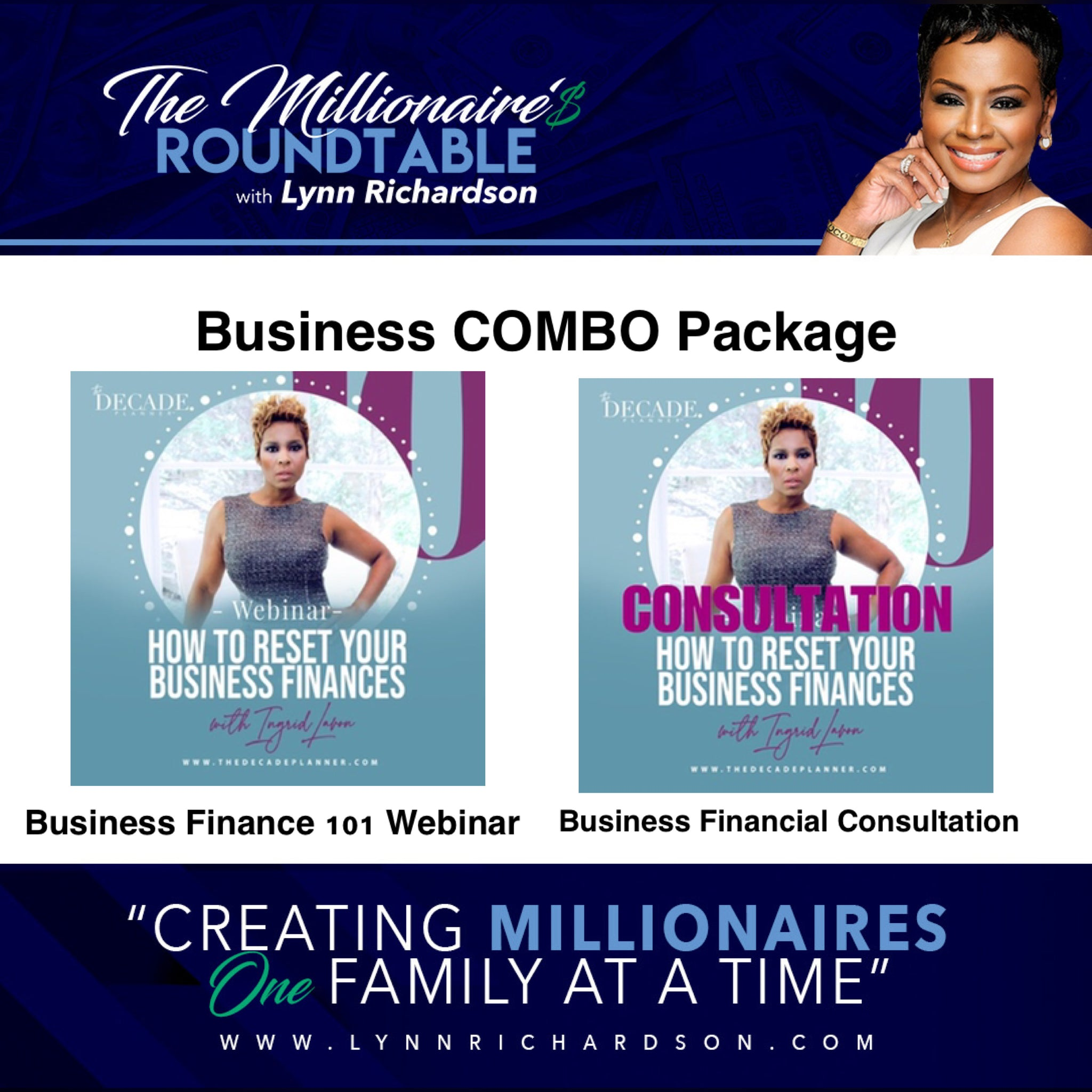 Business Combination Package