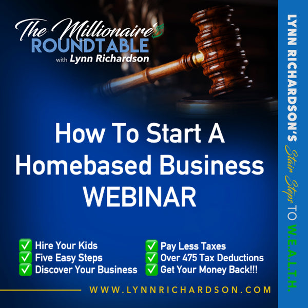 HOW TO START A HOMEBASED BUSINESS WEBINAR
