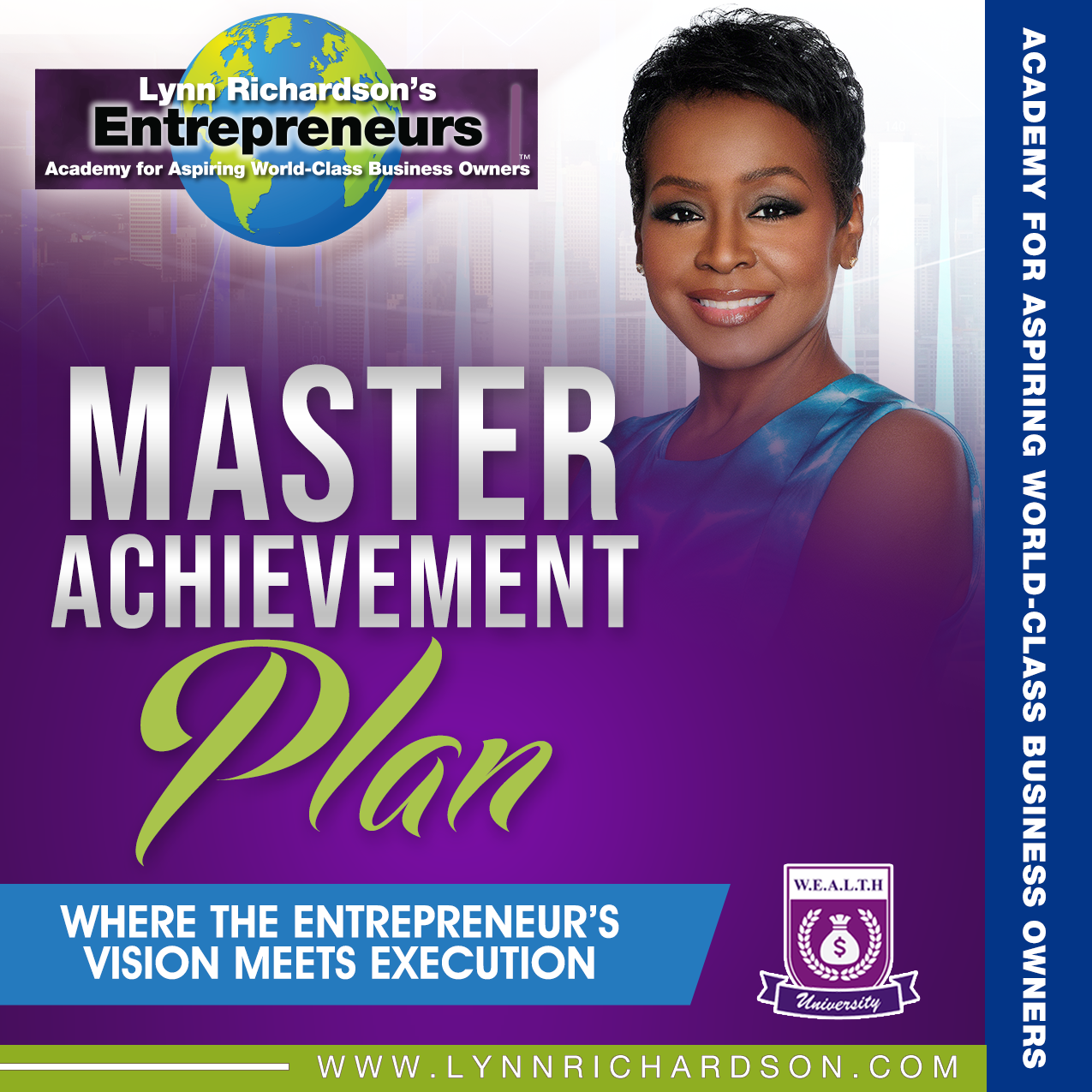 The Master Achievement Plan: Where the Entrepreneur's Vision Meets Execution Online Class