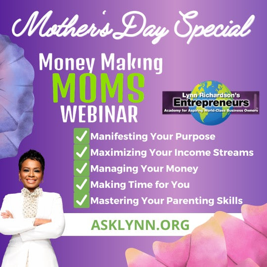 Money Making Moms Webinar