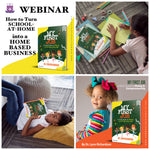 "How to Turn ""School-at-Home"" into a ""Homebased Business"" Webinar"