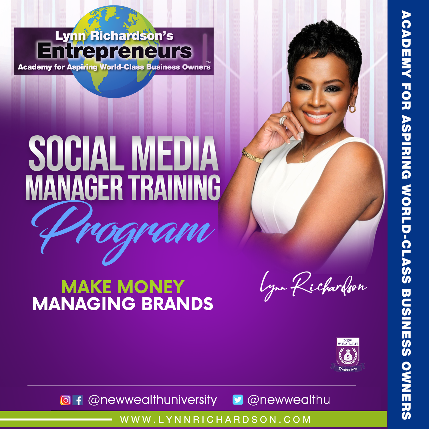 Social Media Manager Training Progam