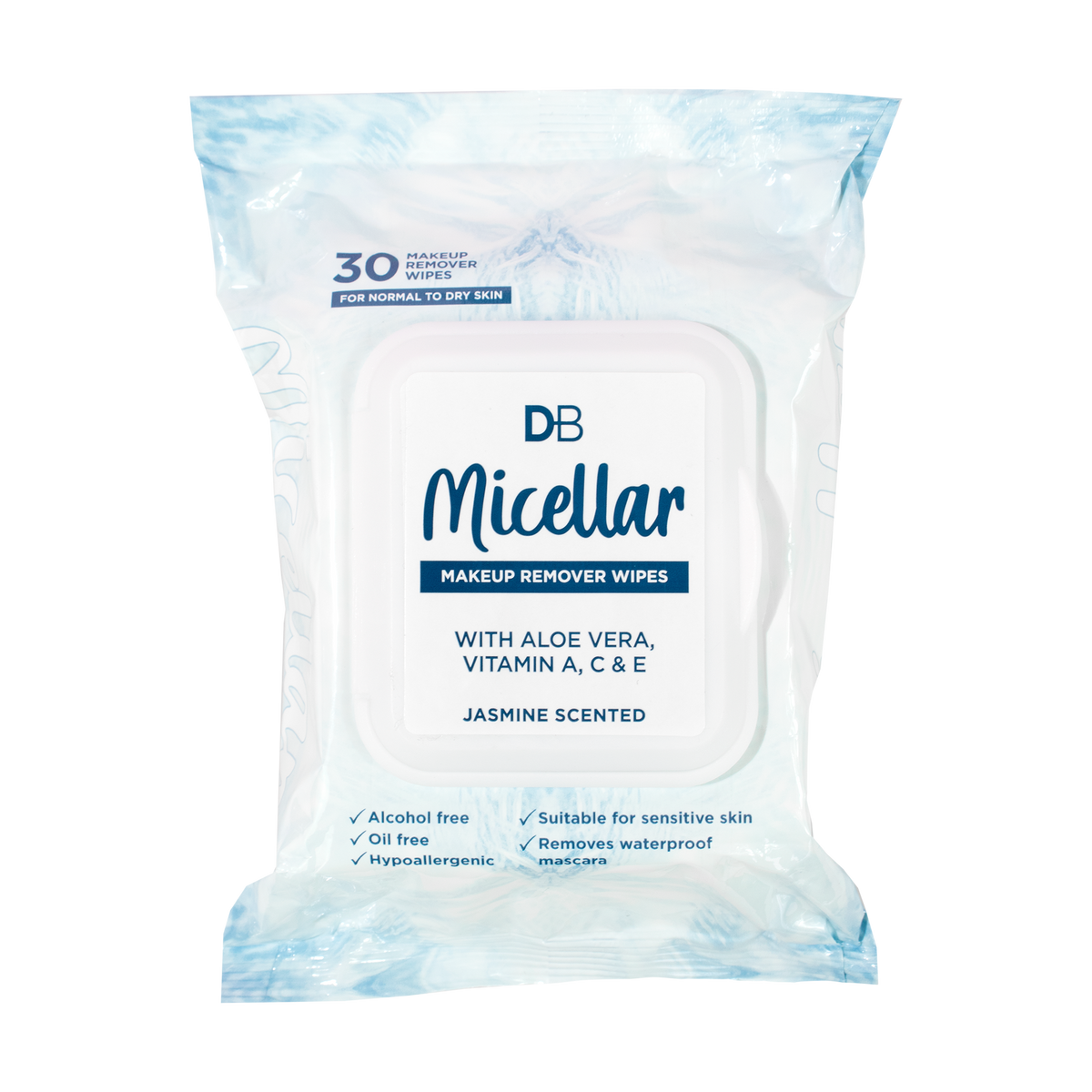 Micellar Makeup Remover Wipes (30 pk)