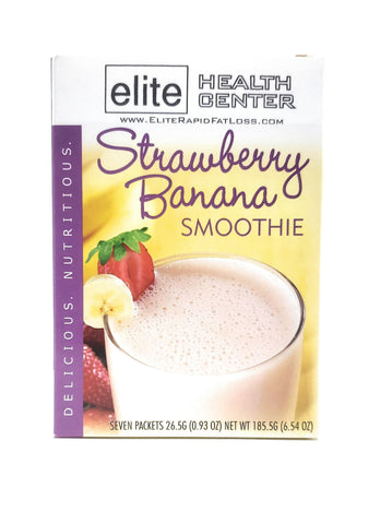 Strawberry Banana Smoothie, Low Sugar, 15g Protein Per Serving (Pack Of 7)