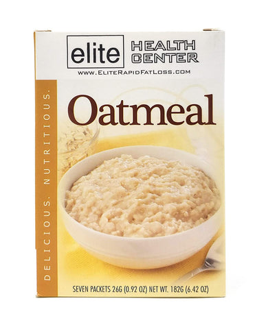 Elite Health Center, Oatmeal, High Protein, Low Carb, Low Sugar, .92 Ounce (Pack of 7)