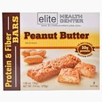 Peanut Butter Protein Bar, Low Carb, Low Sugar, Gluten Free, 1.06oz, (Pack of 7)