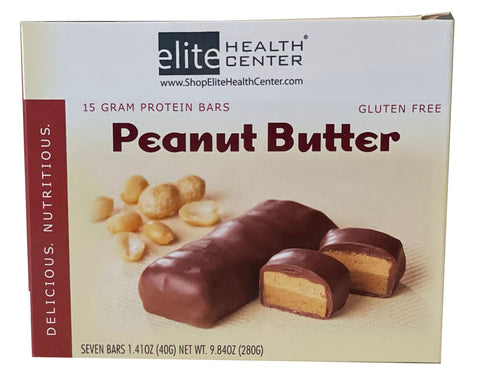 Peanut Butter Protein Bar- Phase 3 and Lifestyle (Pack of 7)