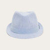 Blues Seersucker Cotton Cap