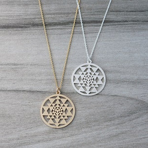 SACRED GEO NECKLACE
