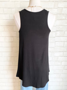OVER N OVER TANK // BLACK