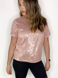 PARTY TIME TOP // BLUSH