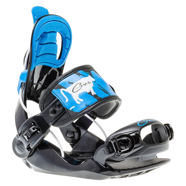 GNU 2020 Youth Gnunior Binding - Black/Blue