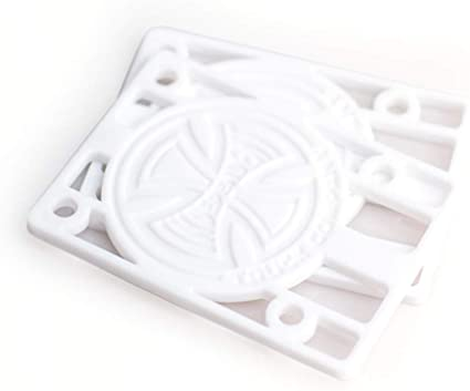 "Independent 1/8"" Riser Pads White"