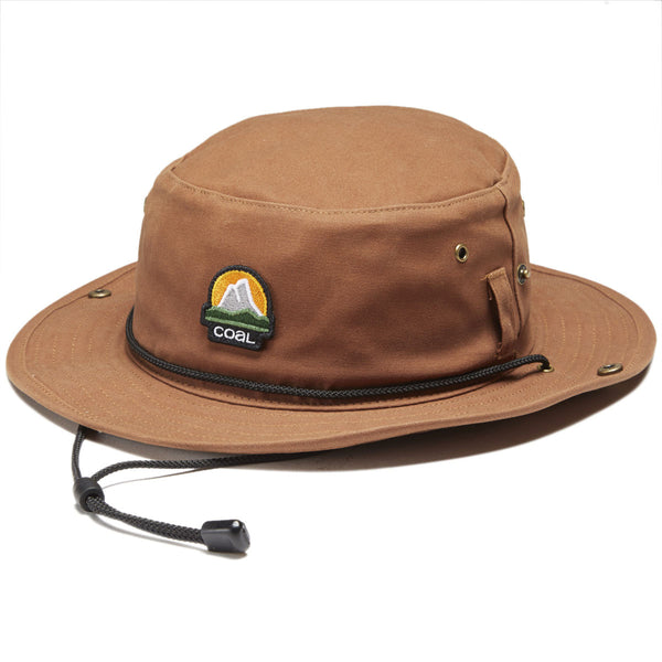 Coal Seymour Bucket Hat - Brown