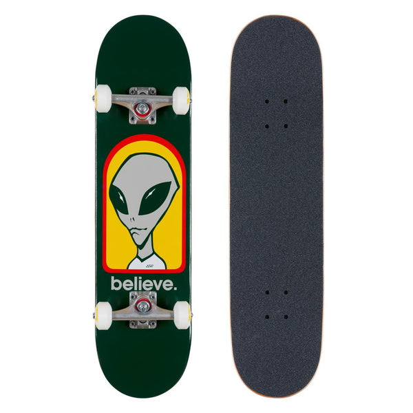 Alien Workshop Believe Green Complete - 7.75""