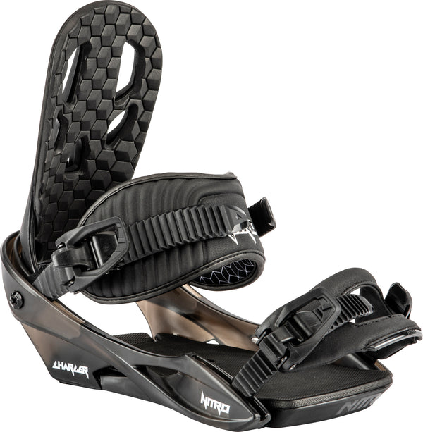 Nitro 2021 Youth Charger Bindings - Black