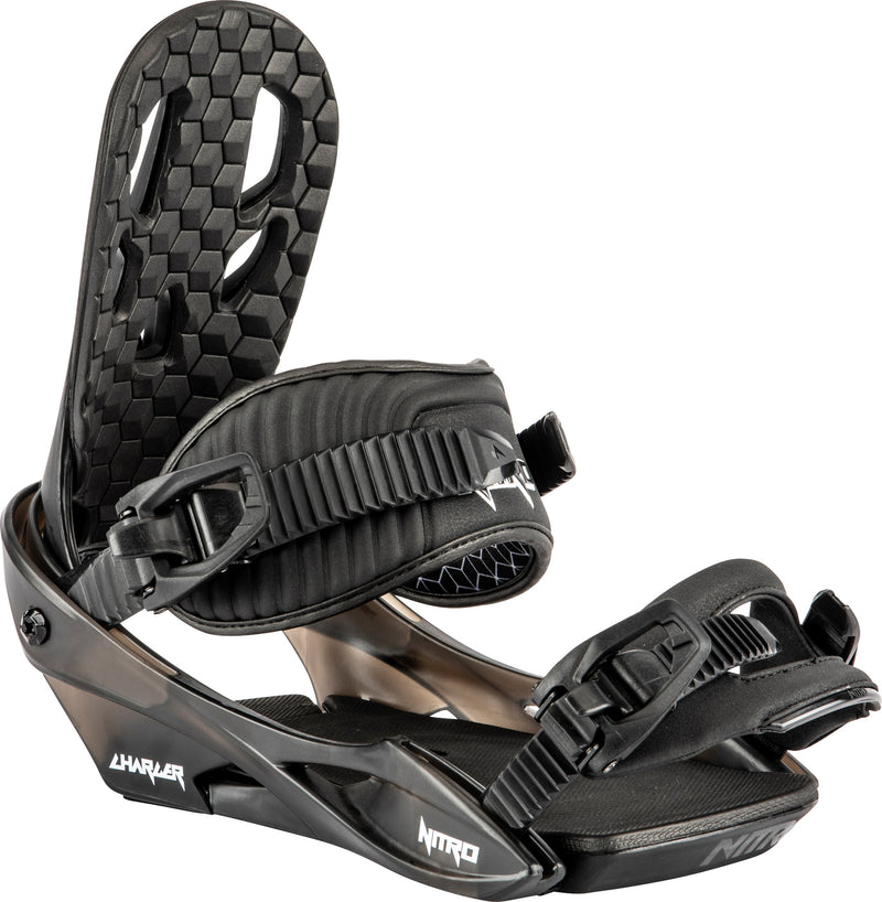 Nitro 2021 Charger Bindings Youth - Black