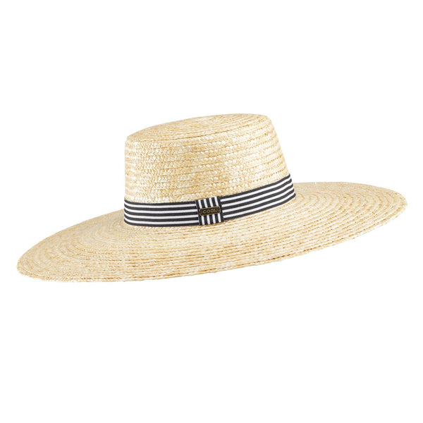 Coal Clary Women's Straw Hat