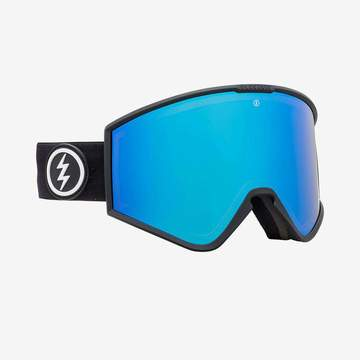 Electric Kleveland Goggle - Matte Black Brose/Blue Chrome