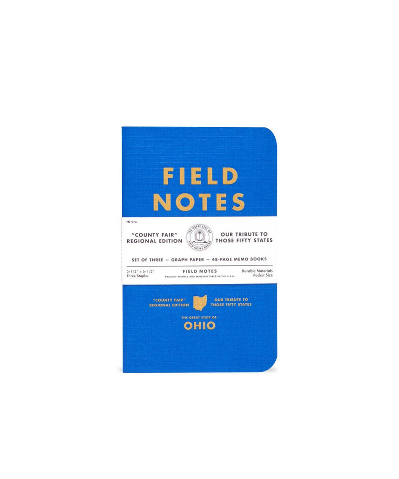 Field Notes County Fair 3-Pack Utah Notebooks