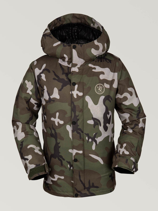 Volcom Ripley Insulated Youth Snow Jacket - Camo