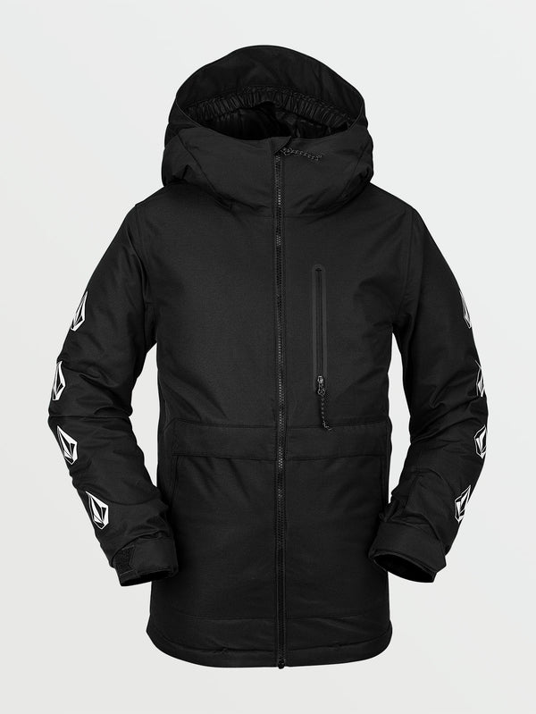 Volcom 2021 Youth Holbeck Insulated Snow Jacket - Black