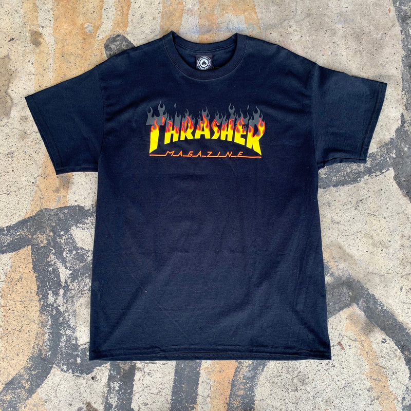 Thrasher Skate Mag Yellow Fade - Black